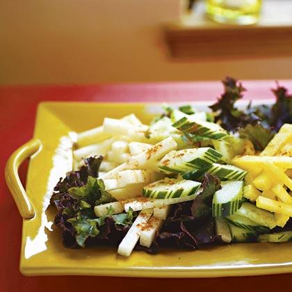 Jicama, Cucumber, and Pineapple Salad (Pico de Gallo)Recipe