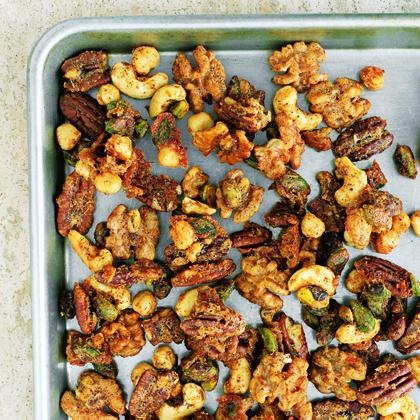 Spiced Mixed NutsRecipe