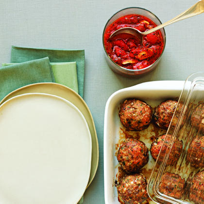 Make a big batch of these top-rated meatballs and toss them into hoagies, pastas, or even a veggie stir-fry for a flavorful dinner in a hurry. They freeze well, so make extra that you can simply thaw overnight and use when you're ready. The creamy ricotta and Parmesan mixture keeps the meatballs extra moist and adds a hint of Italian flavor.Recipe: Big Spicy Meatballs