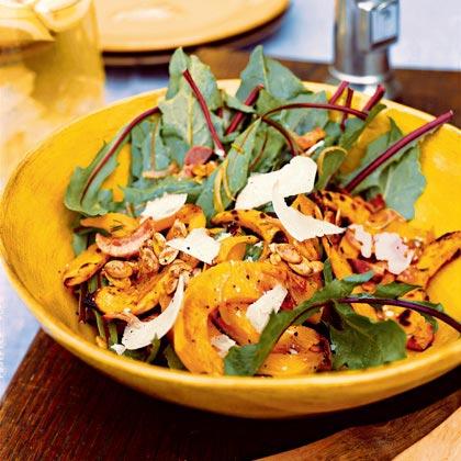 Warm Kabocha Squash Salad Recipe