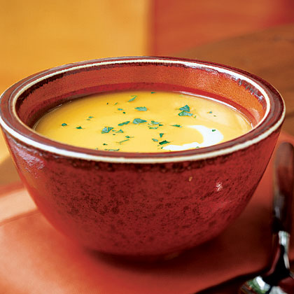 Curry Ginger Butternut Squash Soup