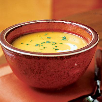 Curry Ginger Butternut Squash SoupRecipe