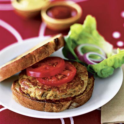 Tofu Burgers Recipe | MyRecipes.com