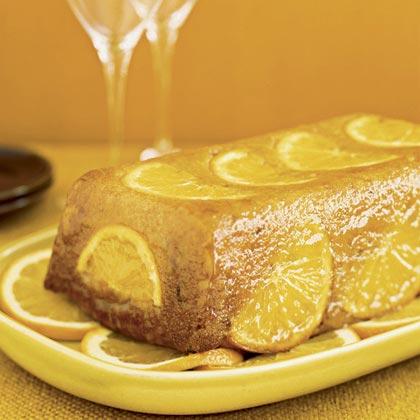 Rum-Glazed Citrus Cake Recipe