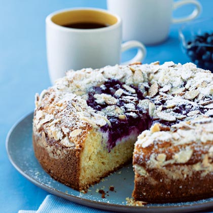 Calories In Gluten Free Blueberry Coffee Cake Slice