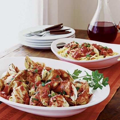 Italian Crab and PastaRecipe