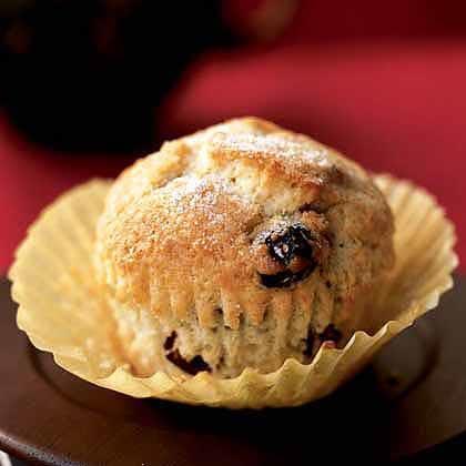 Coconut-Cranberry Muffins Recipe