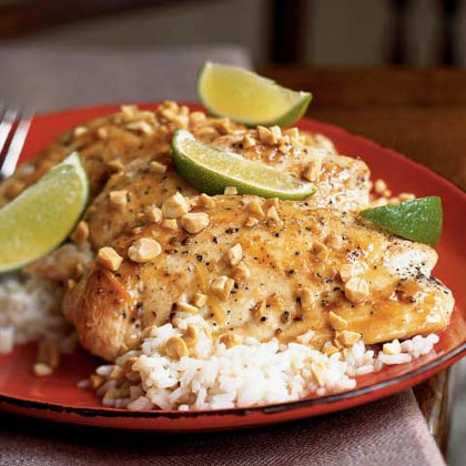 Thai Fish Sauce and Lime Chicken Recipe
