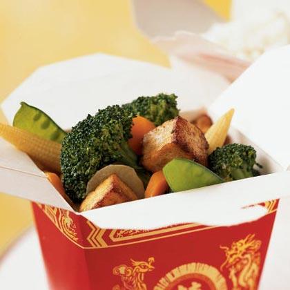 Buddha's Delight with Tofu, Broccoli, and Water ChestnutsRecipe