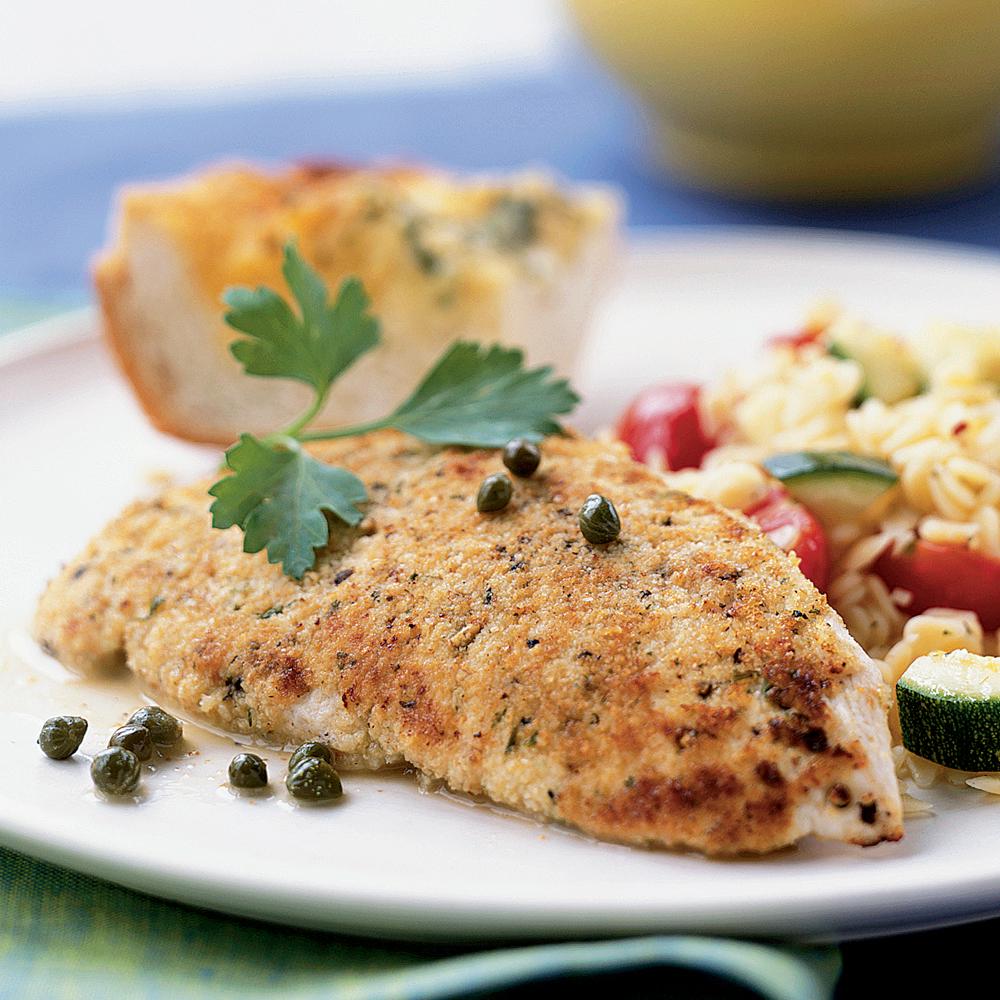 Chicken Scallopini Recipe | MyRecipes.com