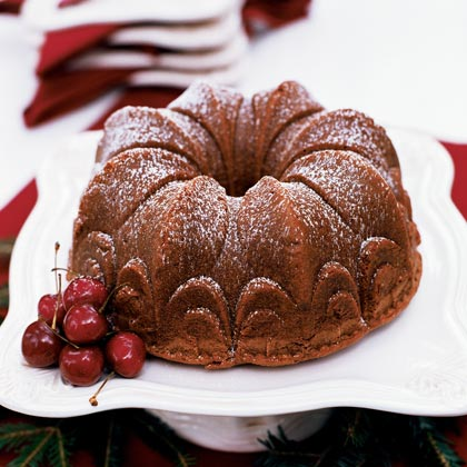 Chocolate-Earl Grey Pound Cake