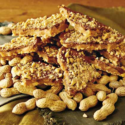 Microwave Peanut Toffee Recipe