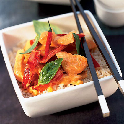 Thai Curry Rice Bowl Recipe