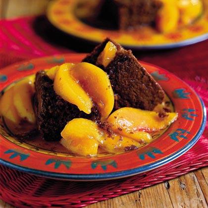 Cocoa Bread With Stewed Yard PeachesRecipe
