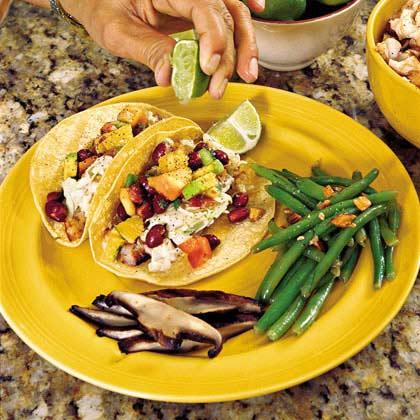 Shredded Grilled Tilapia Tacos