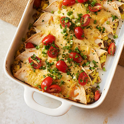 Breakfast Enchiladas Recipe | MyRecipes