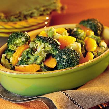 Broccoli With Orange SauceRecipe
