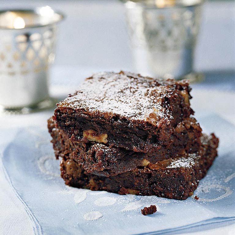 Chunky Chocolate Brownies