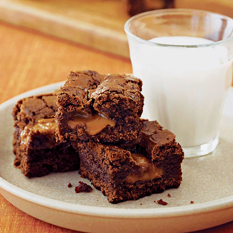 Caramel Brownies Recipe
