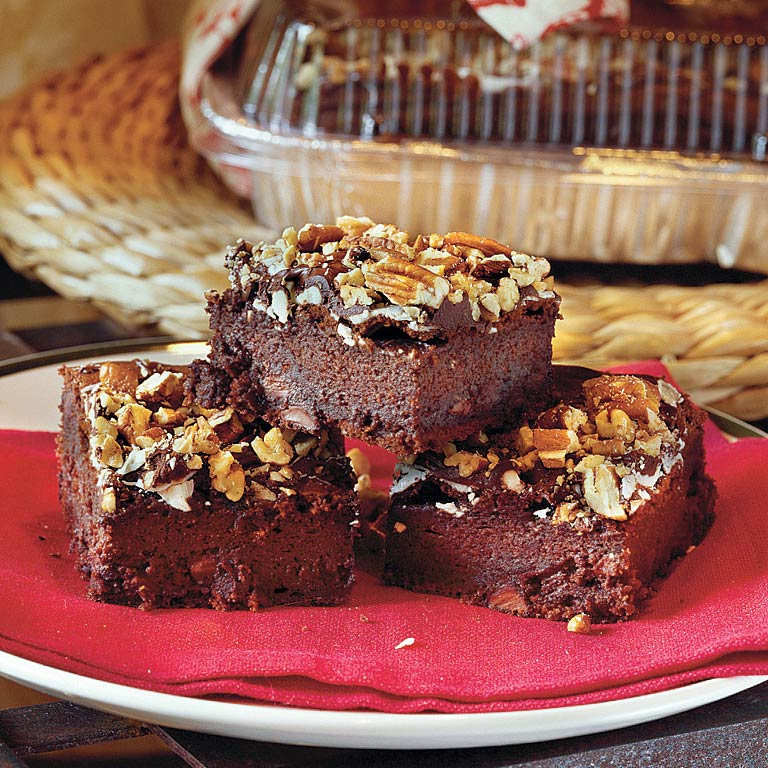 Triple-Chocolate Coffee Cake
