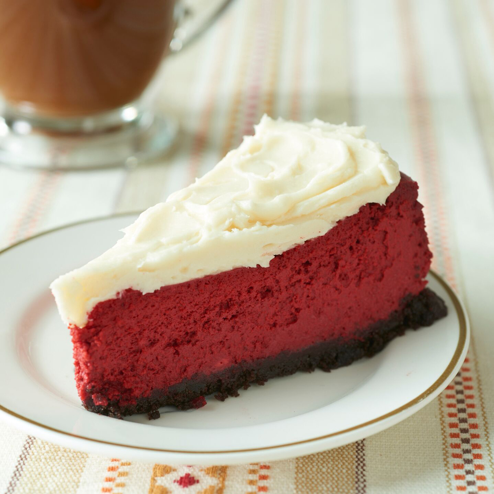 Red Velvet Cheesecake Swirl Cake Recipe