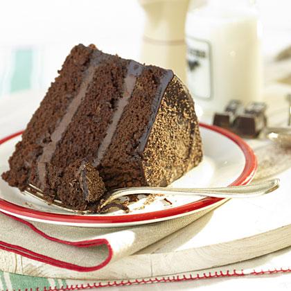 Rudolph's Chocolate Truffle Cake</p><p>