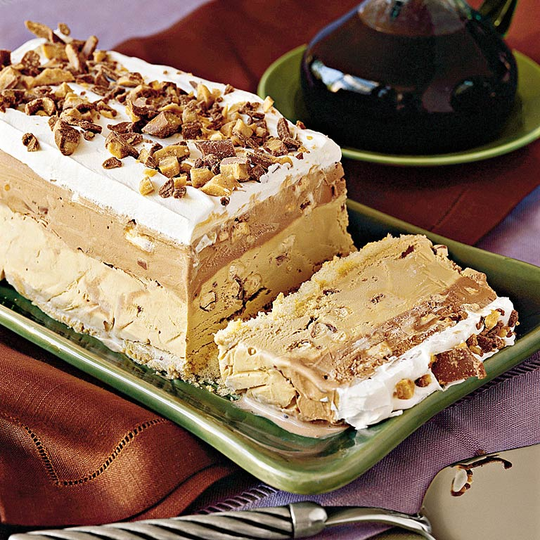 Toffee-Coffee Ice-Cream Torte Recipe