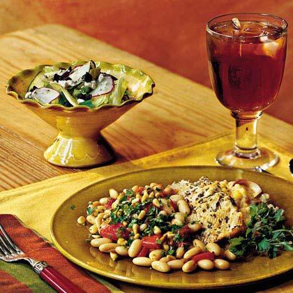 Grecian Tossed Salad Recipe