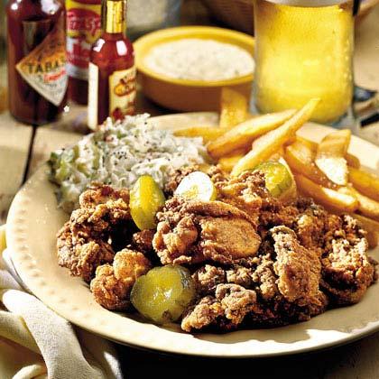 Southwest Fried Oysters Recipe