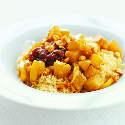 Butternut Squash with Couscous and Chutney Recipe | MyRecipes