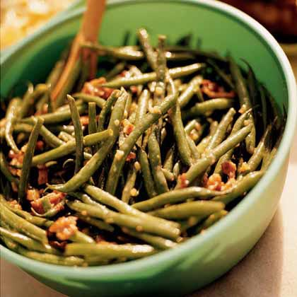 Green Bean Salad with BaconRecipe