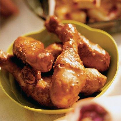 Honey-Molasses Chicken DrumsticksRecipe
