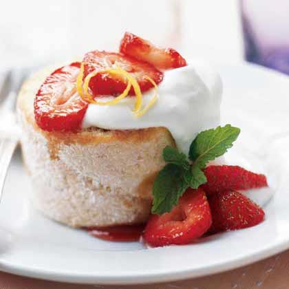Strawberry Shortcake Jelly Roll