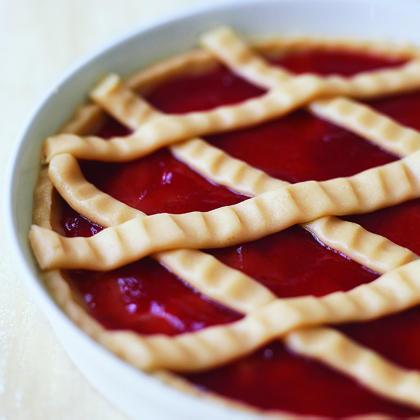 Raspberry Crostada