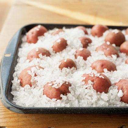 Rock Salt-Roasted Potatoes