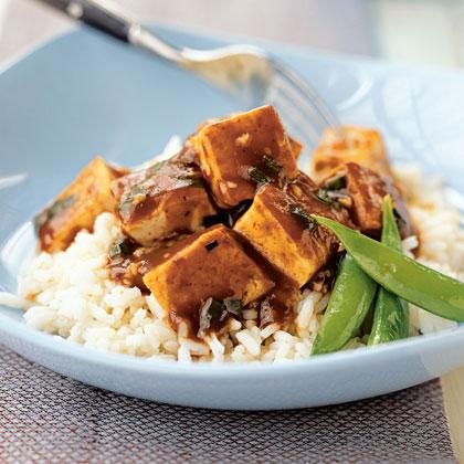 Sweet Hot Tofu