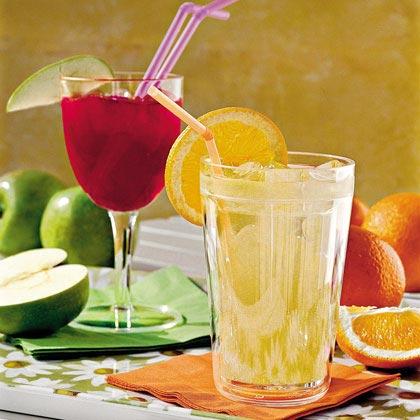 White Grape-and-Orange Cooler Recipe