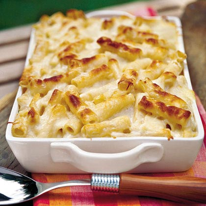 Three-Cheese Pasta Bake Recipe