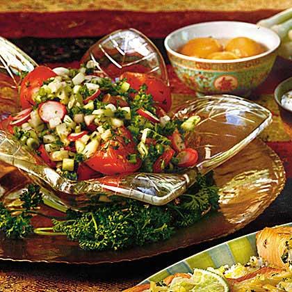 Tomato-and-Cucumber Salad