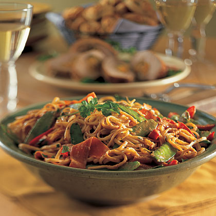 Peanutty Noodles Recipe