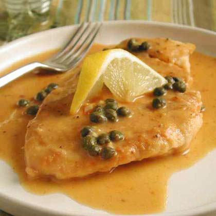 Miso Chicken Piccata Recipe