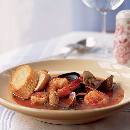 Mother's Cioppino Recipe