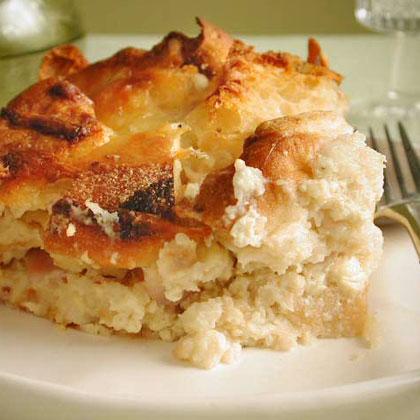English Muffin Strata with Ham and Cheese Recipe