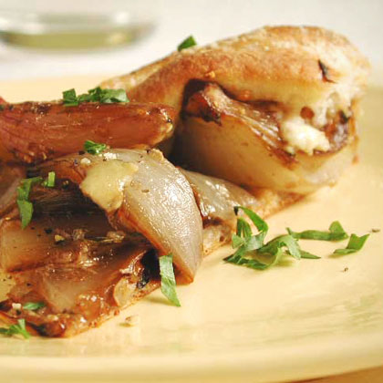Roasted-Onion Tart with Maytag Blue CheeseRecipe