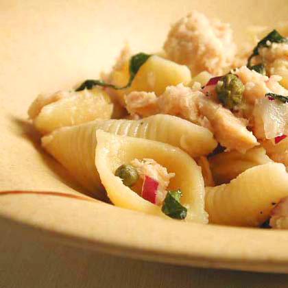Pasta Shells with Tuscan TunaRecipe