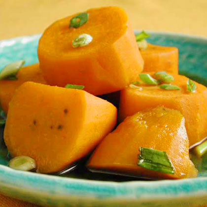 Braised Cinnamon-Anise Sweet Potatoes