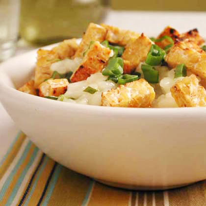 Lemon Risotto with Tempeh Recipe
