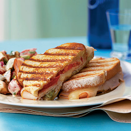 Turkey and Cheese Panini