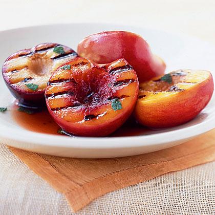 Grilled Stone Fruit Antipasto Plate Recipe