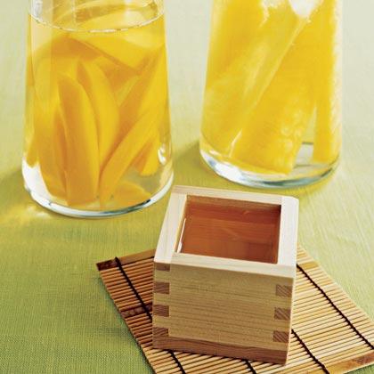 Infused sake